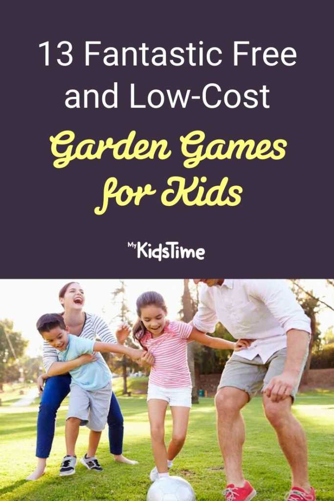 13 Fantastic Free and Low-Cost Garden Games for Kids