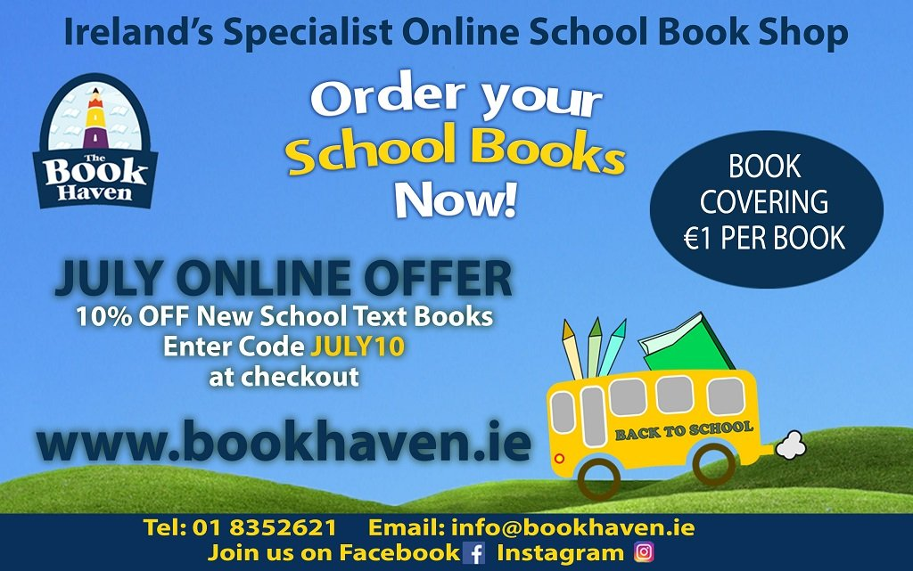 Book Haven July 20 Offer