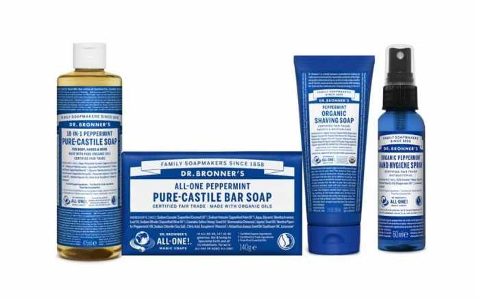 Dr Bronner father's day hamper