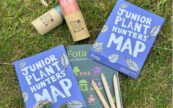 Junior plant hunters map at Fota House and Gardens Cork Things to do in Ireland with kids What's on this month
