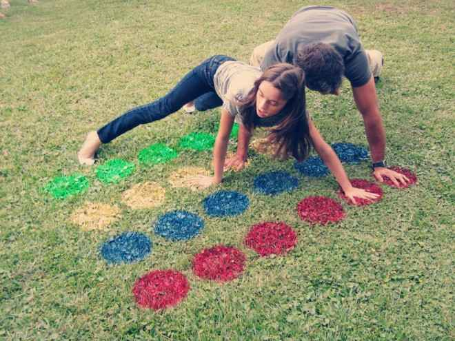 Outdoor Twister Game sassy style redesign
