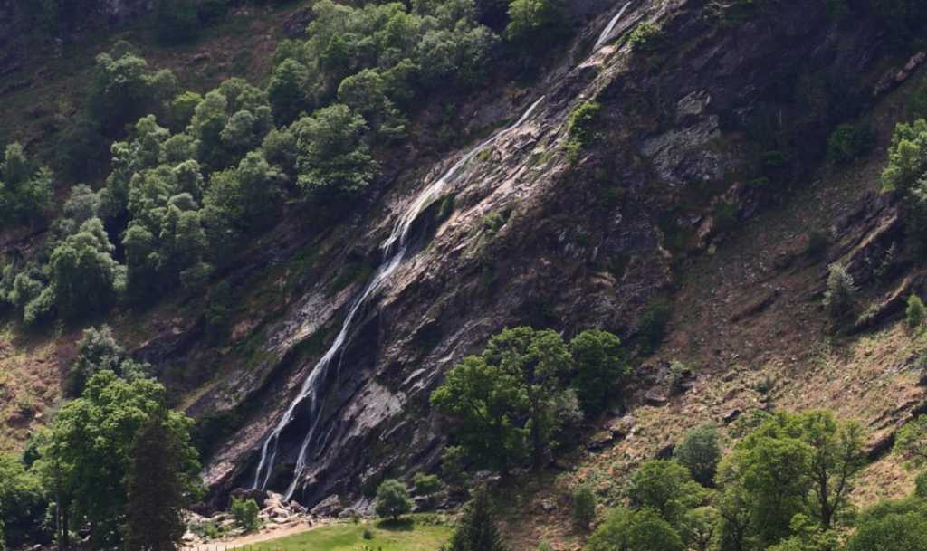 Powerscourt Waterfall May 2020