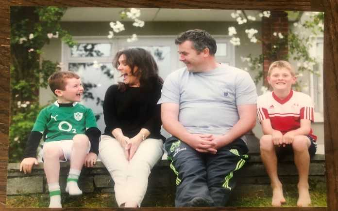 Olive and Anthony Axel Foley living with loss