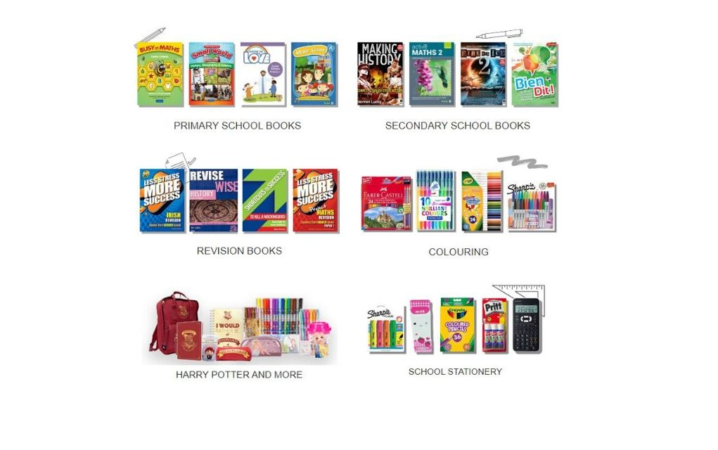 School Books from Easonschoolboks.com