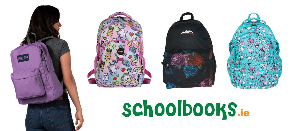 Schoolbooks.ie Schoolbag and Backpack selection