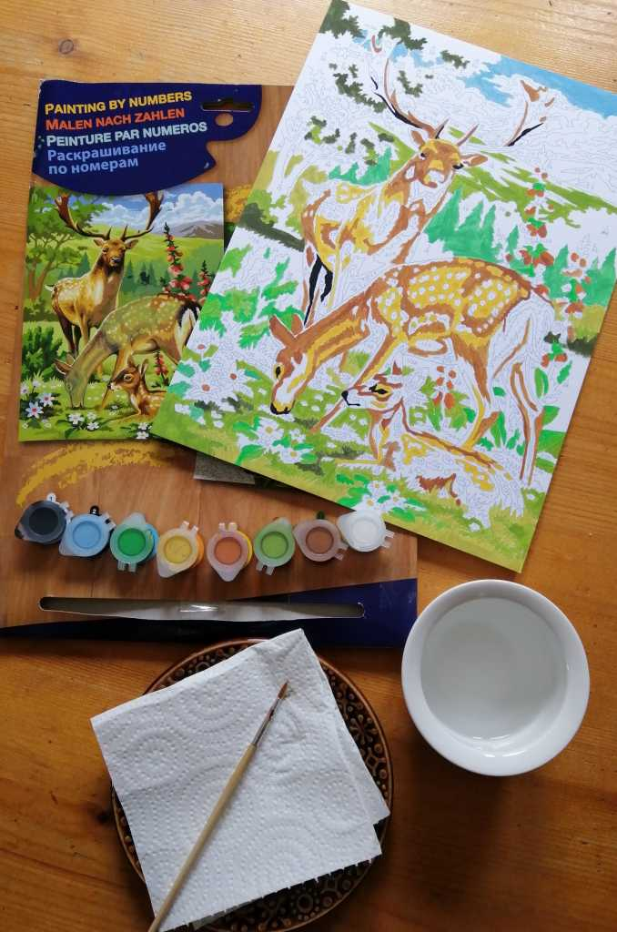 Schoolbooks Paint By Numbers