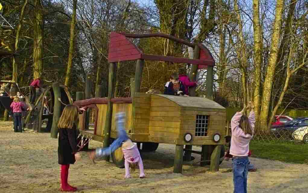 timber tumbles playground castlecomer discovery park