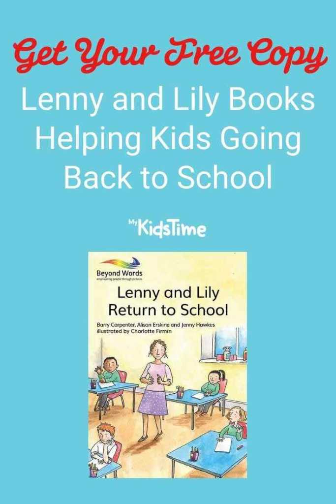 Get Your Free Copy of Lenny and Lily Books Helping Kids Going Back to School