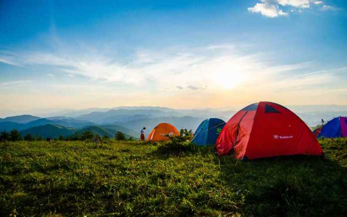 best states for camping