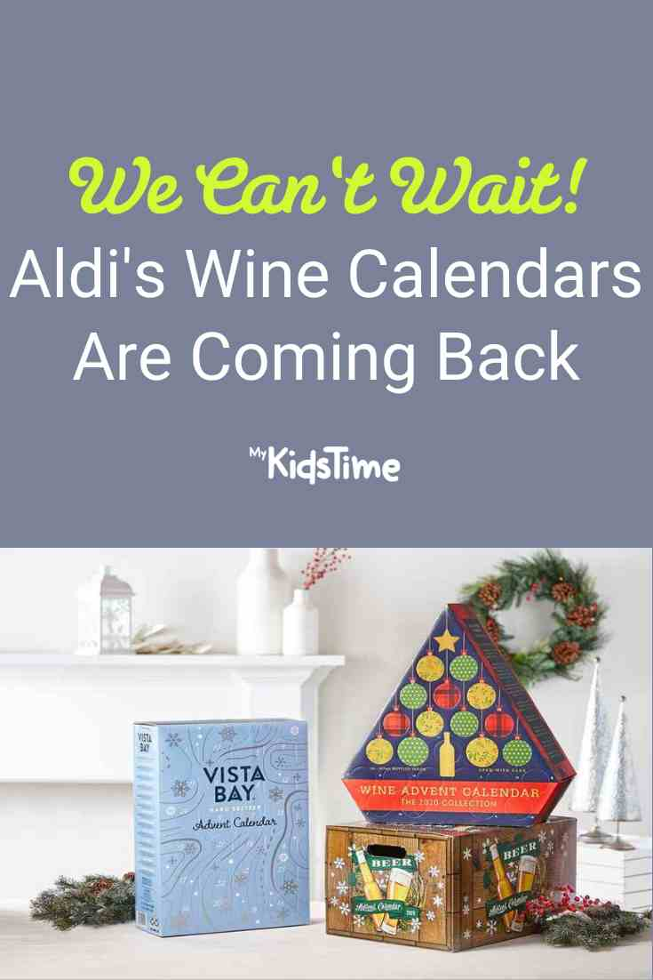 Aldi's Wine Advent Calendars Are Back – and We're Excited! - Mykidstime