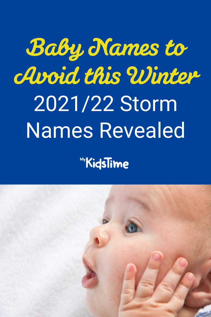 Baby Names to Avoid this Winter 202122 Storm Names Revealed - Mykidstime