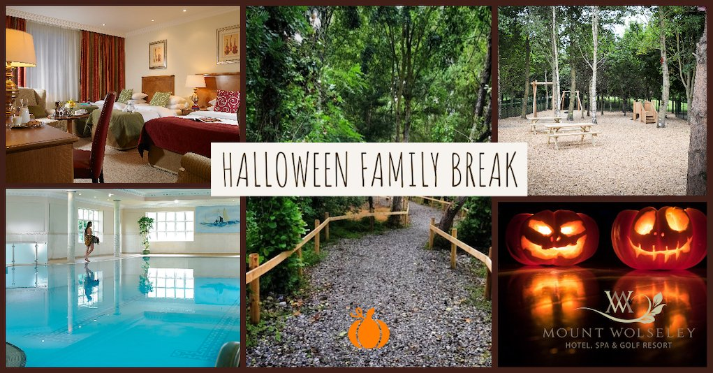 halloween break in Ireland family accommodation offer at Mount Wolseley Hotel Spa and Golf Resort Carlow