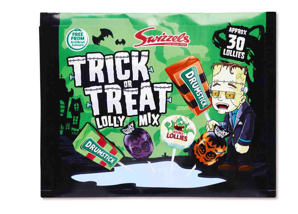 SWIZZELS TRICK OR TREAT LOLLY MIX €1.95