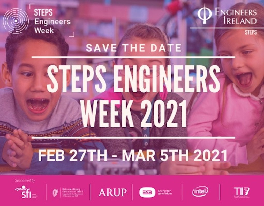 Save the Date Engineers Week 2021