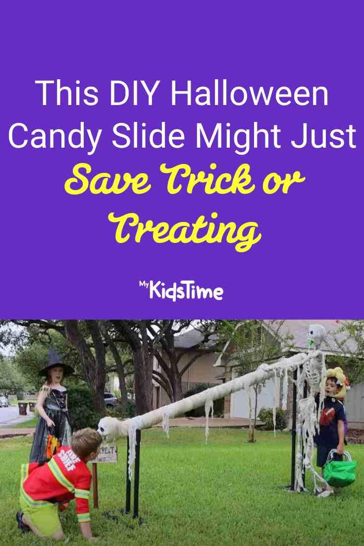 This Deadly DIY Halloween Candy Slide Might Just Save Trick or Treating! - Mykidstime