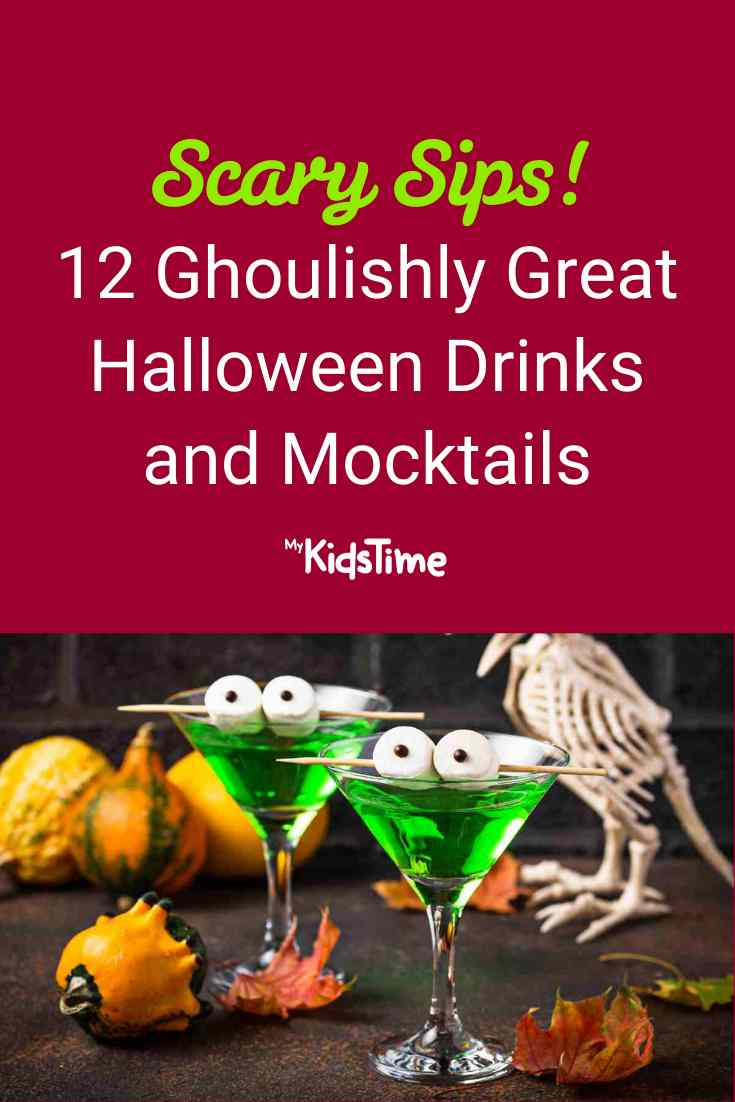 12 Ghoulishly Great Halloween Drinks and Mocktails - Mykidstime