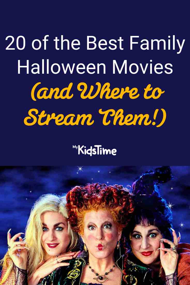 20 of the Best Family Halloween Movies (and Where to Stream Them!) - Mykidstime