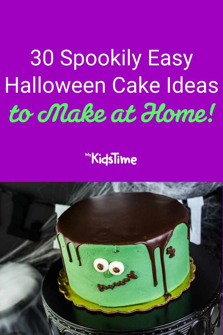 30 Spookily Easy Halloween Cake Ideas to Make at Home - Mykidstime