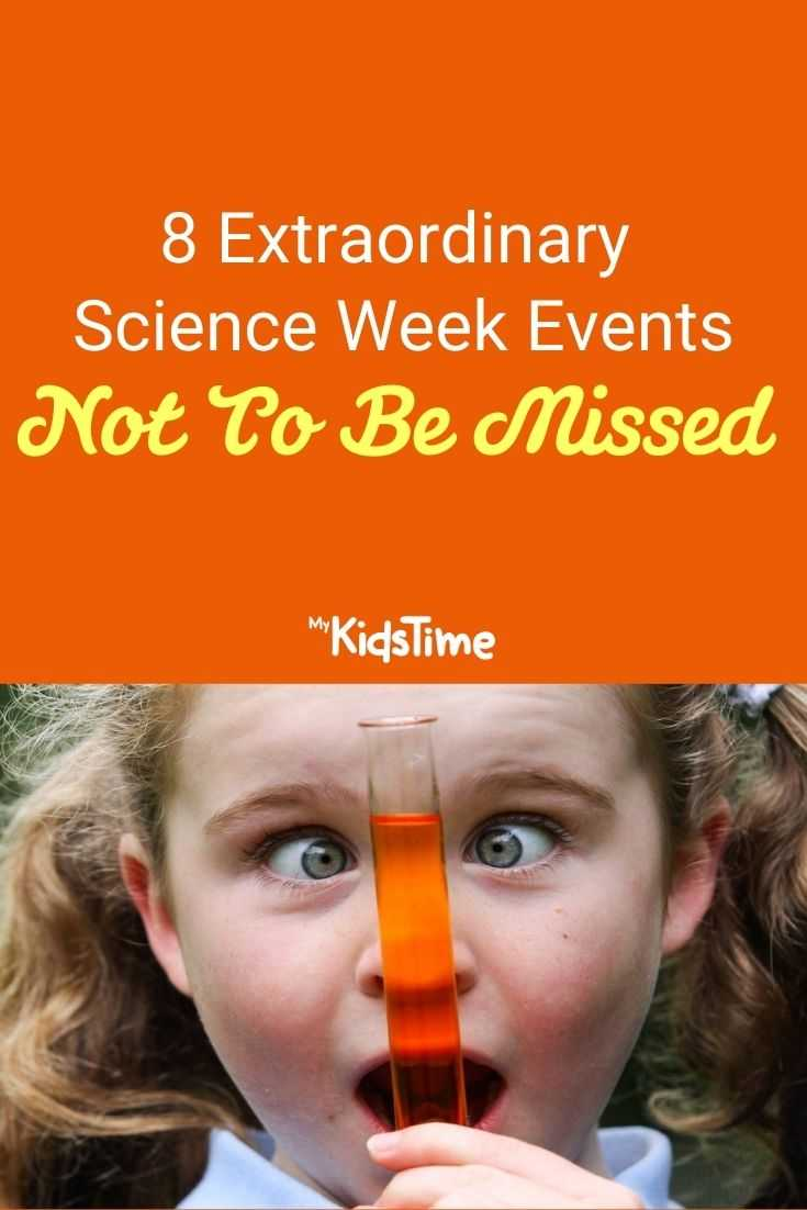 8 Extraordinary Science Week Events pinterest