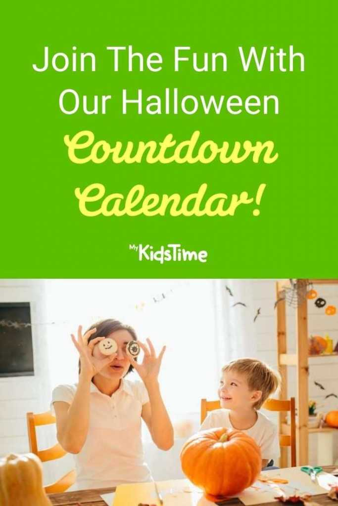 Join The Fun With Our Halloween Countdown Calendar!