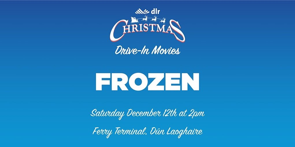 dlr Christmas movie drive in