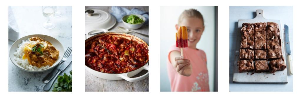flexible family cookbook 4 images