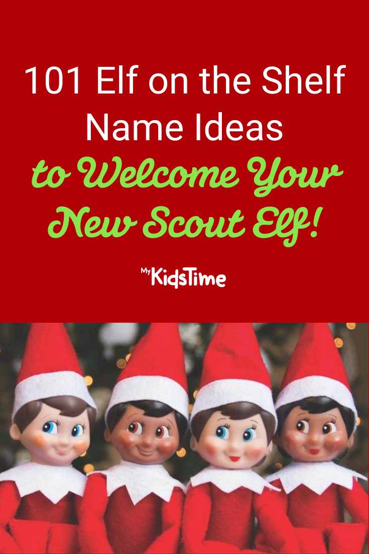 101+ Festive Elf on the Shelf Name Ideas for Your Scout Elf - Mykidstime