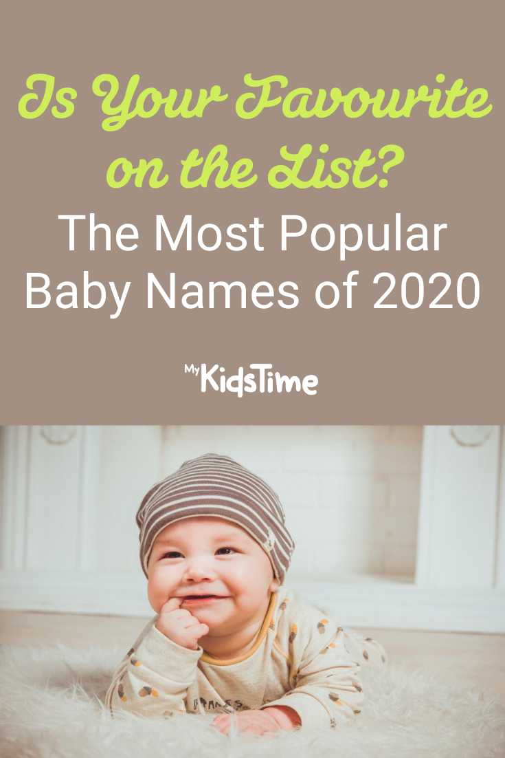 The Most Popular Baby Names Of 2020