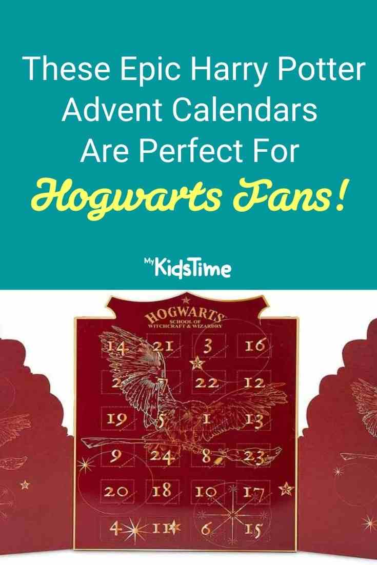 these epic harry potter advent calendars are perfect for hogwarts fans