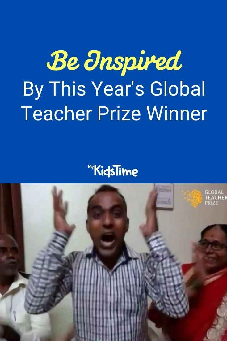 Be inspired by this year's Global Teacher Prize Winner