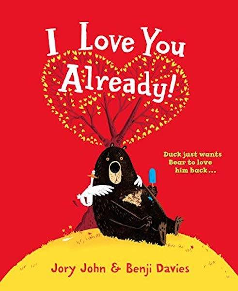I Love You Already -valentine's books for kids