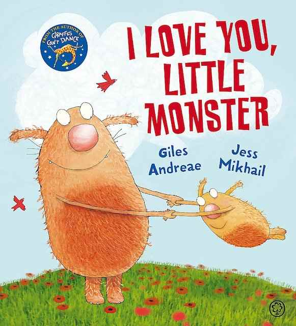 I Love You Little Monster - valentines books for kids