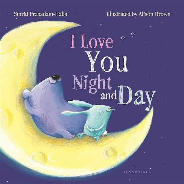 I Love You Night and Day - valentine's books for kids