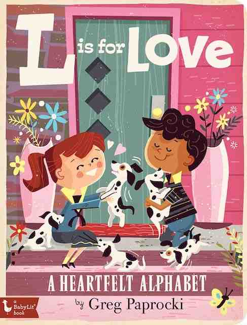 L is For Love - Valentine's books for kids