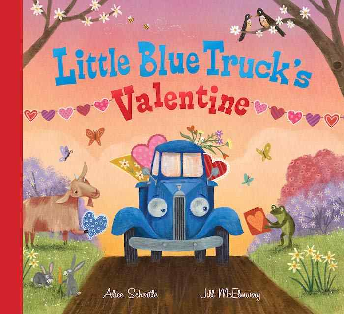 Little Blue Truck's Valentine books for kids