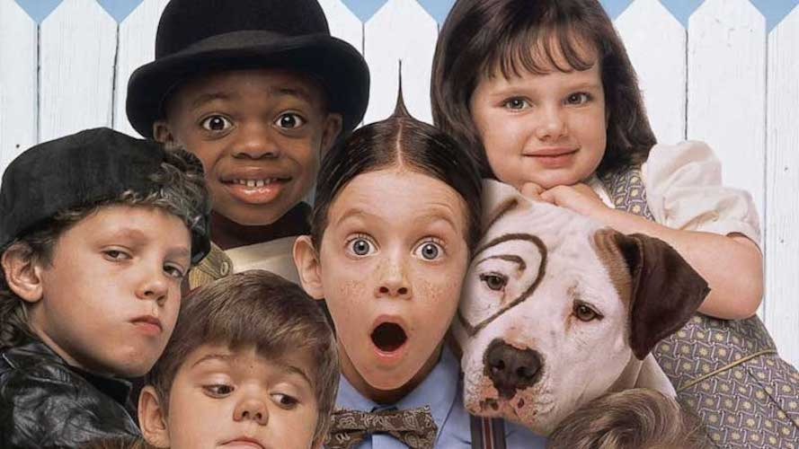 Little Rascals Valentine's Day movies for kids