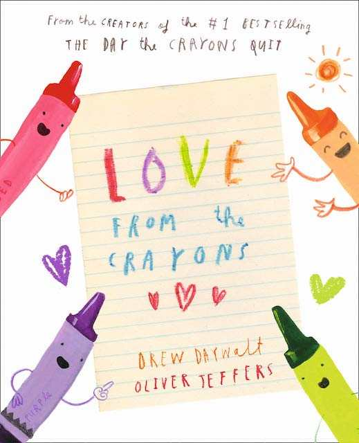 Love From the Crayons - Valentines books for kids