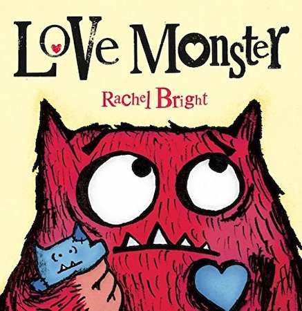 Love Monster - valentines books for kids