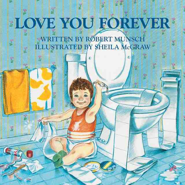 Love You Forever Valentine's books for kids