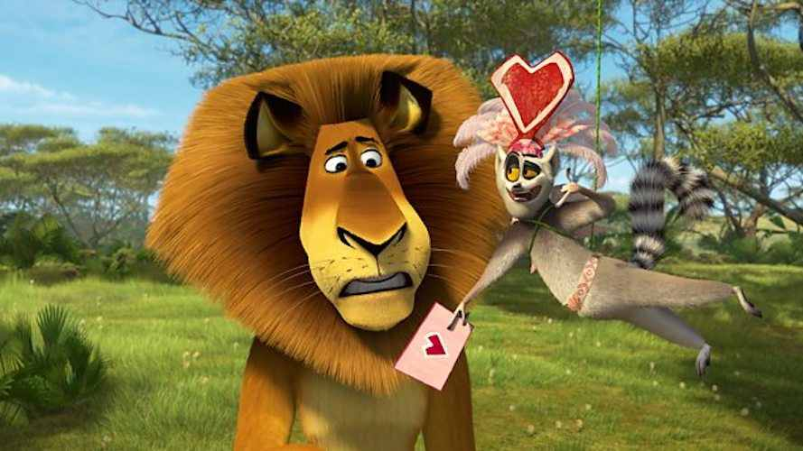 Valentine's day movies for kids Madly Madagascar