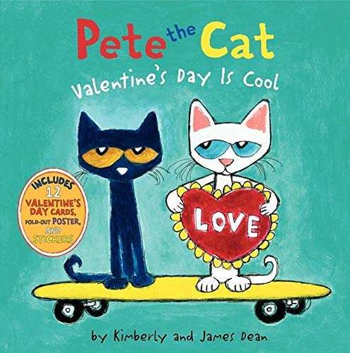 Pete the Cat - Valentines books for kids