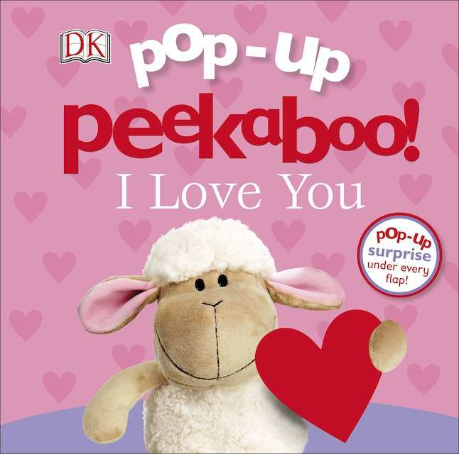 Pop Up Peekaboo I Love You - Valentine's book for kids