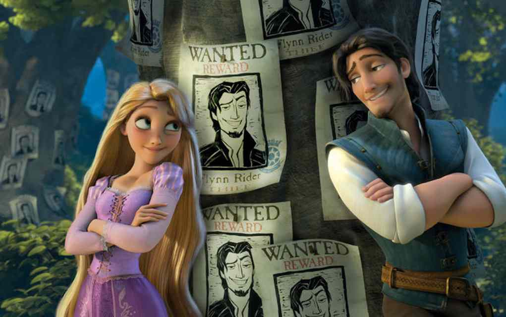 Tangled - Valentine's Day movies for kids