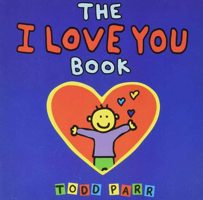 The I Love You Book - valentine books for kids