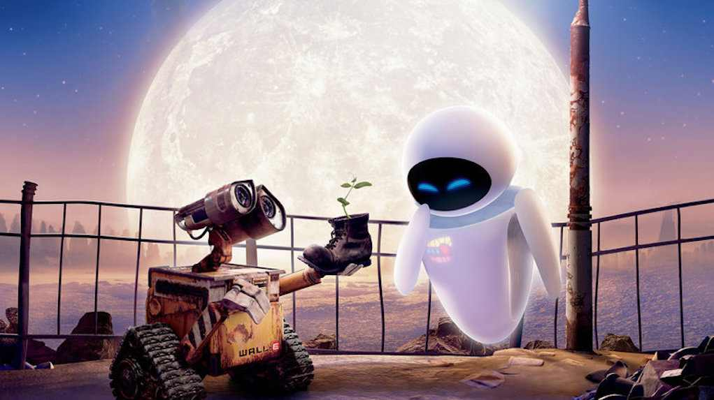 Valentine's day movies for kids - Wall E