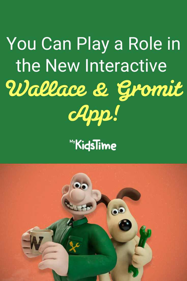 You Can Play An Actual Role in the New Interactive Wallace & Gromit app