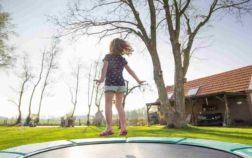 trampoline jumping for calming strategies