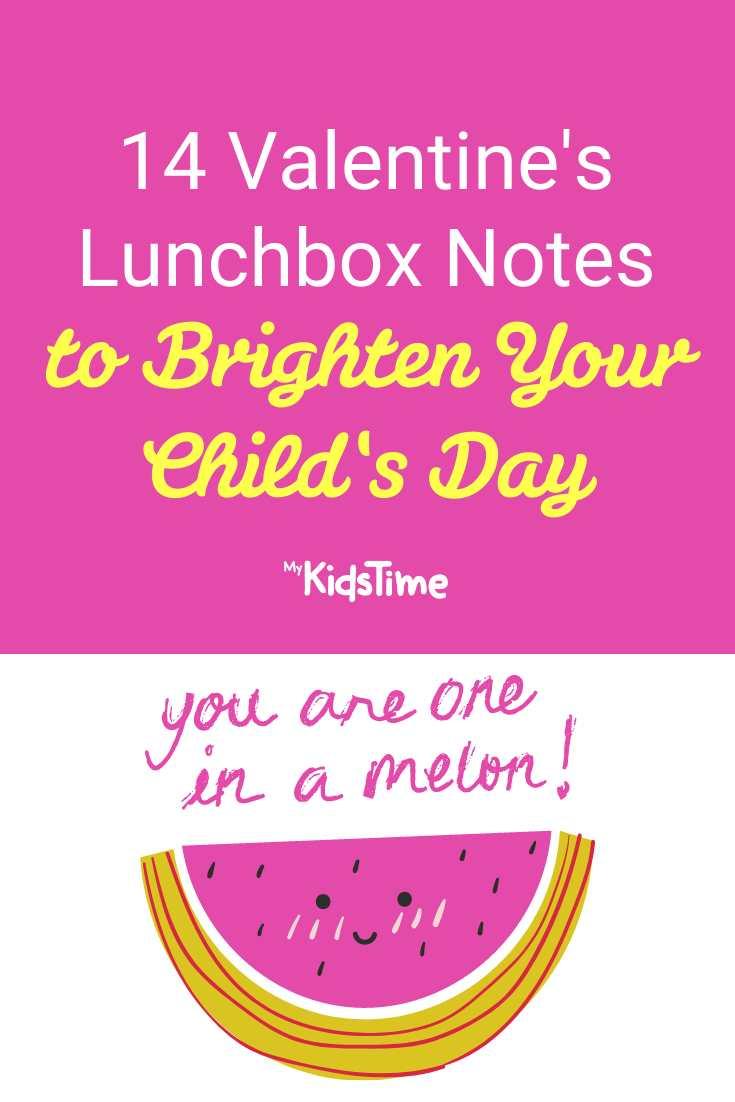 14 Valentine's Lunchbox Notes to Brighten Your Child's Day - Mykidstime
