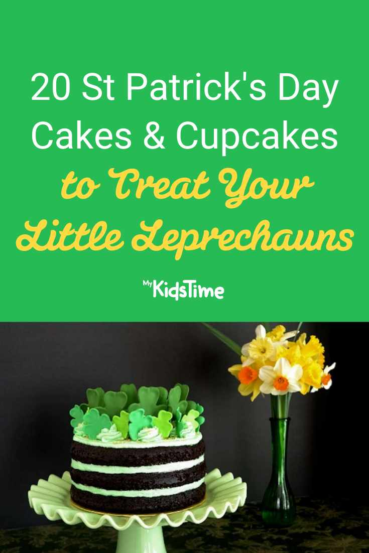 20 St Patrick's Day Cakes and Cupcakes to Treat Your Little Leprechauns! - Mykidstime