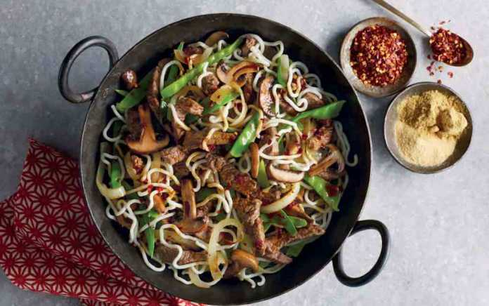 Chinese Beef and Cabbage Stir Fry (1)